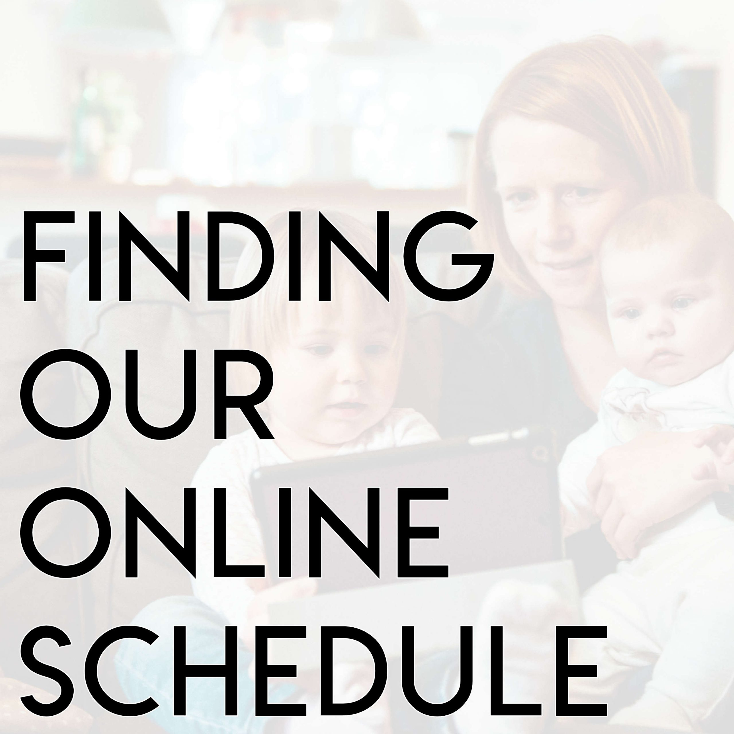 Finding Our Online Programs